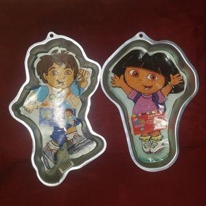 Dora and Diego Wilton Cake Pans